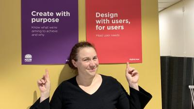 Pia Waugh pointing to design standards